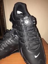 New NIKE Shox NZ Running Shoes Mens black/white= size 12 ( no box )