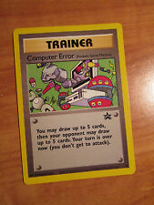EX Pokemon COMPUTER ERROR Card BLACK STAR PROMO Set #16 Wizard of the Coast WOTC