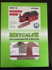 Metcalfe Kit PN112. Goods Shed Kit.  N Scale.