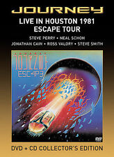 DVD: Journey - Live in Houston 1981, The Escape Tour, . Acceptable Cond.: