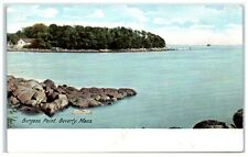 Early 1900s Burgess Point, Beverly, Ma Postcard