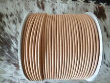 Round leather belts 8 mm x 100 cm straps Butt Larp Drive Singer
