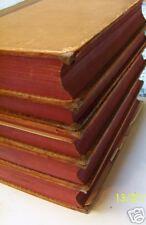 French 1818 5 Vol L'Art Des Verifier History Leather