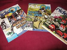 Ride On ~ Bicycle Victoria. THREE (3)   Magazines  2007 - 2008    HERE in MELB