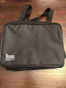 The Bead Smith Crafter Tote Organizer Bag - Bead Toy Craft Supplies Many Pockets