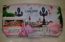 (New) LANCOME Travel Cosmetic Makeup Pouch/Case/Bag (JAESUK KIM design)