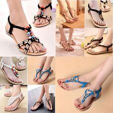 2018 Ladies Sandals Flip on Flops Ladies Boho Thongs Sandles Summer New Fashion