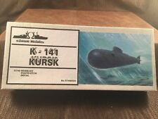 Samek Models 1/700 K-141 Kursk S700 / 050 Submarine Resin Kit MD2