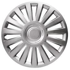 "Vauxhall Signum Luxury 16"" Wheel Covers Metallic Silver ABS Construction"