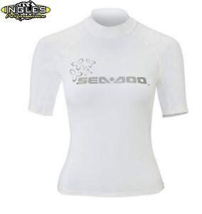 286459 Sea-Doo Ladies' Rashguard in White