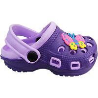 Childs Infants Girls Boys Clog Mules Beach Summer Sandals Shoes Size Eva Slip On