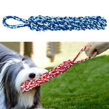 Aggressive Chew Toys for Large Dogs Indestructible Tough Cotton Rope Pet Tug Toy