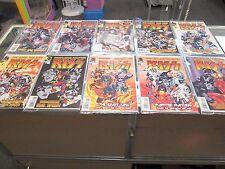 Kiss Joe Casey Comic Books #1-13 Double Covers Plus Mars Attacks Never Opened