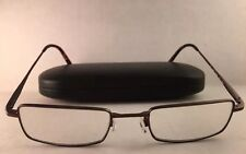 JOSEPH ABBOUD RX GLASSES METAL TAUPE FRAME 49-20-145 Size