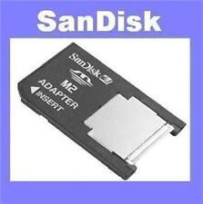 Adaptador F. 16,32 gb Memory Stick Micro m2 en pro duo