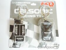 Choro Q TAKARA CALSONIC 20th Aniv. RACING TEAM Keychain Set Black NEW Rare F/S