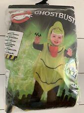 Ghostbusters Slimer Halloween Costume 3T/4T