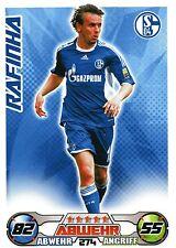 274 Rafinha - FC Schalke 04 - TOPPS Match Attax 2009/2010