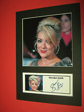 SHERIDAN SMITH ACTRESS  A4 PHOTO MOUNT SIGNED REPRINT BUY ANY 3 GET 4TH FREE