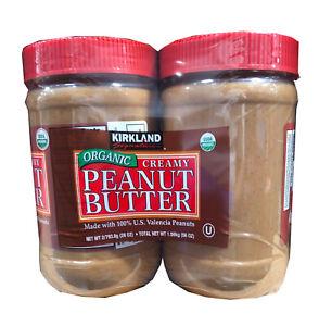 2-Pack Kirkland Signature ORGANIC Creamy Peanut Butter