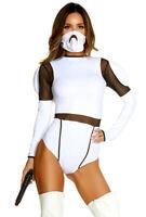 Forplay womens Storm Trooper bodysuit costume
