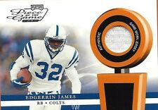 EDGERRIN JAMES LOT OF DIFFERENT AUTHENTIC GAME USED JERSEY CARDS