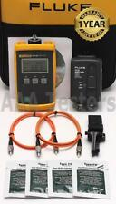 Fluke FTK-100 MM Fiber Optic Loss Test Kit FM130 FOS 850/1300 FTK100