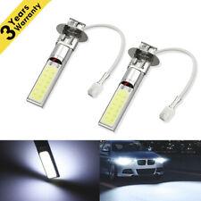 2X H3 Fog Driving Lights Cree LED Light Bulbs 6000K Bright White 50W 6000LM PO