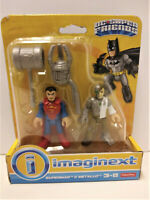 Imaginext DC Super Friends Superman & Metallo Action Figures Fisher Price NEW