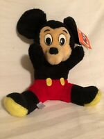 Vintage MICKEY MOUSE Plush Stuffed Toy Doll Walt Disney Parks Exclusive Taiwan