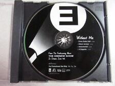 EMINEM WITHOUT ME PROMO CD ALBUM CLEAR RADIO EDIT INSTRU A CAPPELLA DJ VERSIONS