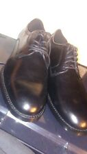 COACH MENS SHOES SIZE 10.5 D ANDREW DERBY G1042 BLACK LEATHER NWOB
