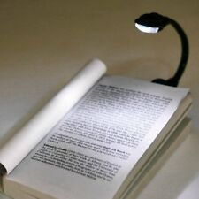 Mini Flexible Clip-On Bright Book Light Laptop LED Book Reading Light Lamp Gift#