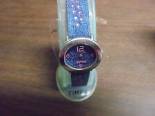 Women's TIMEX 73401 Blue Levi with Pick Crystals