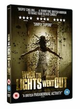 When The Lights Went Out - DVD NEW & SEALED - Horror