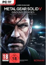 PC Game Metal Gear Solid V 5 Ground Zeroes DVD Shipping NEW