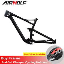 """Full Suspension Carbon Fiber Mtb Bike Frame 29er 15/17/19"""" Mountain Frameset"""
