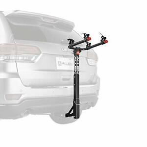 Allen Sports Deluxe 2-Bike Hitch Mount Rack  Silver/Black 522RR