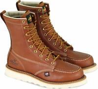 "Thorogood American Heritage Men's 8"" MaxWear Wedge Steel Moc Toed Safety Boots"