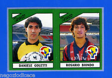 CALCIATORI PANINI 1987-88 - Figurina-Sticker n. 461 -GOLETTI#BIOND- TARANTO -Rec