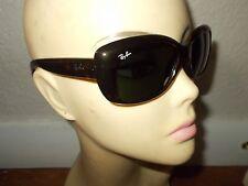 RAY-BAN RB 4101 Jackie Ohh 710 Tortoise Frame Green Lenses Sunglasses ITALY