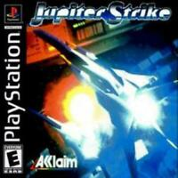 Jupiter Strike Playstation 1 Game PS1 Used