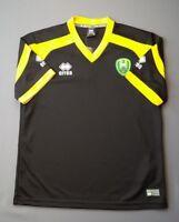 Norwich Football Jacket Size M Medium Brand New Bird Lightweight Navy Errea
