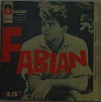 "FABIAN 1960 Steady Date/Turn Me Loose Odeon RARE  Exclusive 45 P/S 7"" EP BRAZIL"