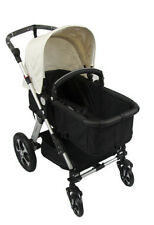 New 2 in 1 Baby Pram Stroller with Convertible Bassinet / Seat 4 Wheel Aluminium