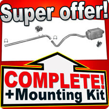 Renault Megane II / Scenic II 1.5 DCI since 2002 Silencer Exhaust System B57