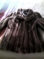 mujer Navidad sintético de de y Regalos chaquetas Abrigos de pelo qwzt67Wxg
