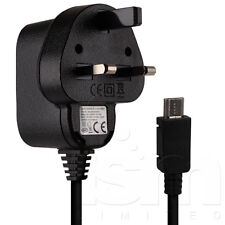 "Micro USB UK Mains Charger Adaptor Power Cable for Acer Iconia One 7"" Tablet"