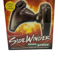 Microsoft SideWinder Dual Strike USB Gamepad PC 3D Controller New Sealed
