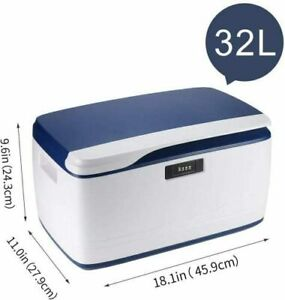 32L Coded Lockable Storage Box Bin Container Strong ABS Stackable Combination